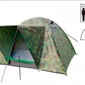 Палатка Zelart, 3-х местная, двухслойная
