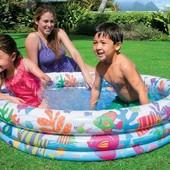 Надувной детский бассейн Intex 59431NP Fishbowl Pool