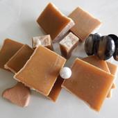 Натуральное шампуневое мыло, твердый шампунь для сухих и поврежденных волос
