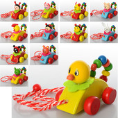 Деревянная игрушка Каталка MD 0900