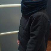 Стильное фирменное пальто для мальчика