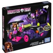 Конструктор мега блокс монстрический мобиль Клодин mega Bloks Monster moviemobile