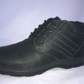 Распродажа!!!ботинки кожаные,новые