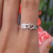 Серебряное кольцо Катина