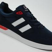 Мужские замшевые кроссовки Classica Style RED