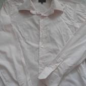 Фирменная рубашка с длинным рукавом М\L