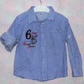 Классная рубашечка на мальчика, Gloria Jeans, р. 18-24 мес.