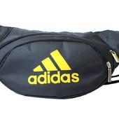 Спортивная сумка бананка в стиле Adidas (501)