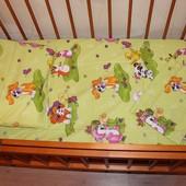 Постельный набор в кроватку бязь Е14