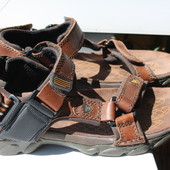 Кожаные мужские сандалии Clarks 39-40 размер