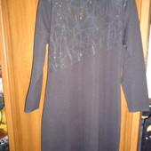Платье чёрное на 50 р!