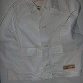 пиджак катон+лён на 3-4 года