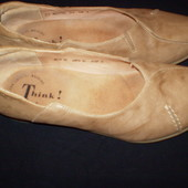 39- 25 cм  кожаные  балетки ф.  Think  размер  39 -  25  см