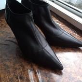 ботинки Gucci мягкая кожа