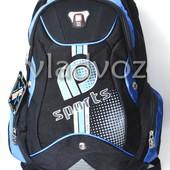 Школьный рюкзак ортопедический DFW sport син.чёрн.