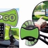 Универсальный автомобильный держатель мультимедийных устройств GripGo
