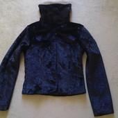 пиджак тонкий мех Новое xs