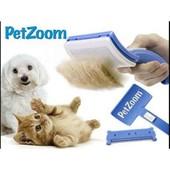 Щетка и триммер PetZoom для ухода за шерстью кошек и собак Пет Зум