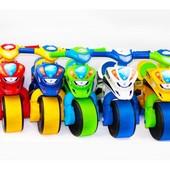 "Каталка-толокар ""Мотоцикл полиция"" Смайлик."