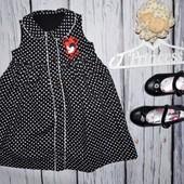 1 - 2 года 86 - 92 см Очень нарядное романтичное пышное платье сарафан для модниц минни маус Minnie