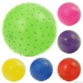 Мяч детский с пупырышками 466-526 E