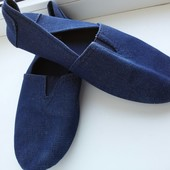 Новые крутые эспадрильи, мокасины под джинс Giorgio, размер 8(42)