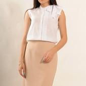 Блуза Альберта р42-52 белый