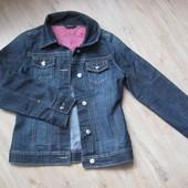 Джинсовая куртка пиджак на девочку 11-12 лет george