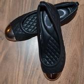 Туфли, балетки шанельки размер 37, новые.