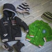 Куртка ветровка для модника осень весна Name it р 74- 86 деми