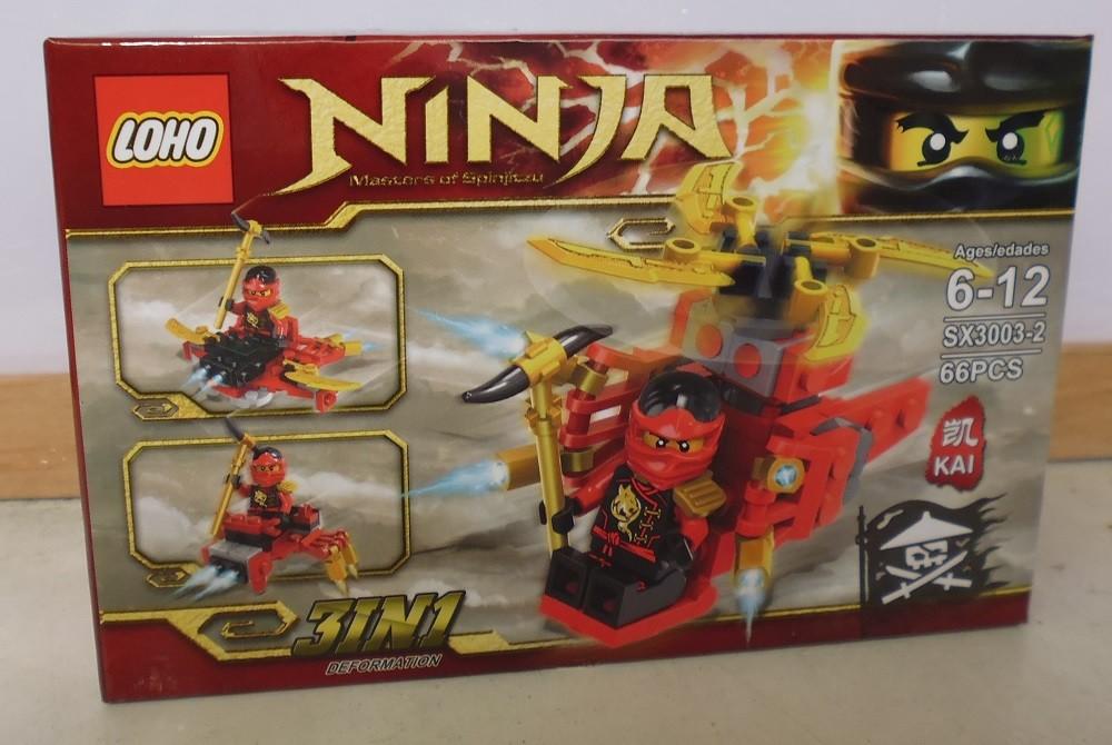 Конструктор ninja 3003 фото №1