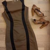 Monton силуэтное фирменное платье