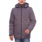 Длинная зимняя мужская куртка.