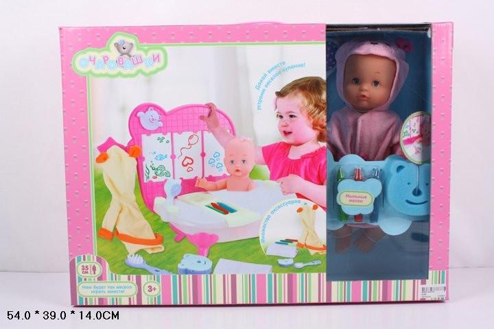 Кукла-пупс 35см 5304 очаровашки фото №1