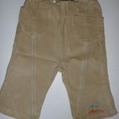 штаны вельветовые на 4-8 мес