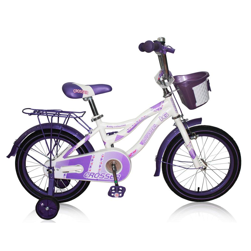 Кросер Киди 16 18 20 Crosser Kiddy велосипед двухколесный детский девочки фото №1