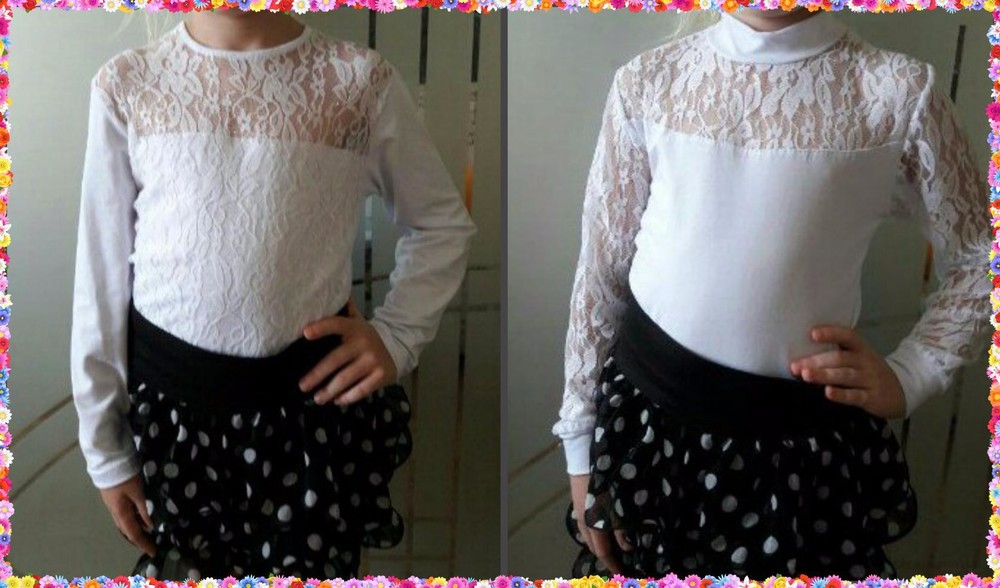 Водолазка, блуза  для девочки фото №1