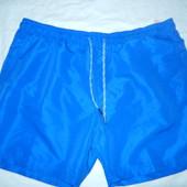 Новые купальные шорты XL(полуобхват в поясе 49 см)
