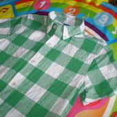 рубашка тениска 9-10лет, 55% лен,45 % котон