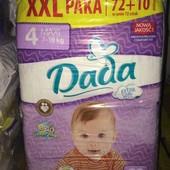 Подгузники Dada  XXL Paka дада ххл памперсы экстра софт комфорт фит