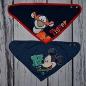 Очень стильная фирменная бандана арафатка платок на шею Disney Дисней Микки и Тигрюля