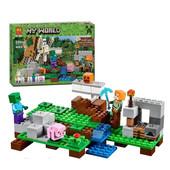 Конструктор Bela 10468 Железный голем бела майнкрафт Minecraft