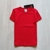 Новая яркая футболка для девочки. C&A. Размер 7 лет