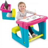 Детская парта с доской для рисования Smoby 420102