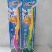 Детская зубная щетка Bobini (Бобини) 2-7 лет Польша