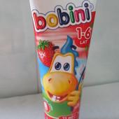 Детская зубная паста Bobini(Бобини), 1+, 6+  лет 75 мл Польша
