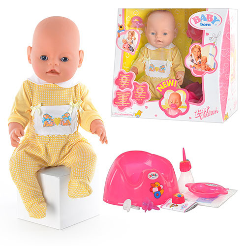 Кукла беби берн  bb 8001-2 фото №1