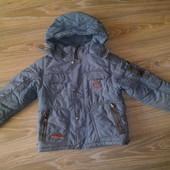 Куртка зимняя Domido. На бирке рост 104, но реально можно до 120