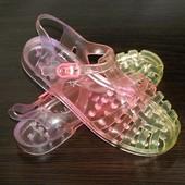 Next (21 см) силиконовые сандали, аквашузы