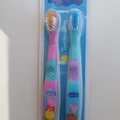 Детская зубная щетка, набор 2шт